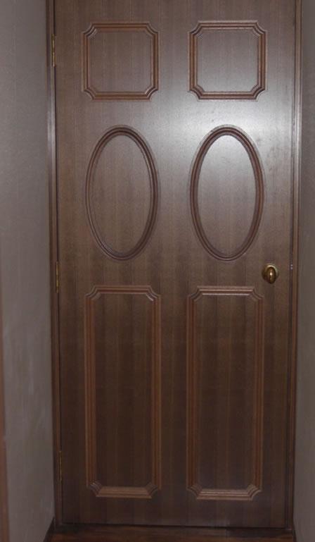 かまち戸、ガラス戸、フラッシュ戸等色々な飾り加工